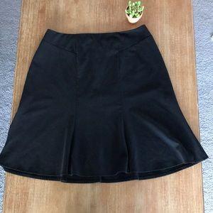 Skirtology Black Flirty Flare Skirt